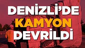 Virajı Alamadı Şahin Tepesi'nde Devrildi!