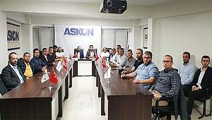 AGD'DEN ASKON'A ZİYARET