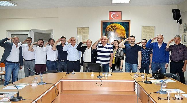 """Barış Pınarı Harekatına """"Asker Selamı"""" ile destek verdiler"""
