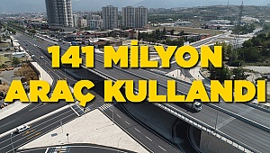 BU KAVŞAKLARI 141.350.000 ARAÇ KULLANDI