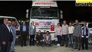 Çivril'den Mehmetçiğe 20 ton elma