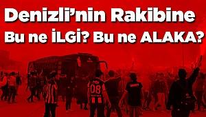 Denizli'de, Fenerbahçe'ye Büyük Karşılama Tepki Yarattı