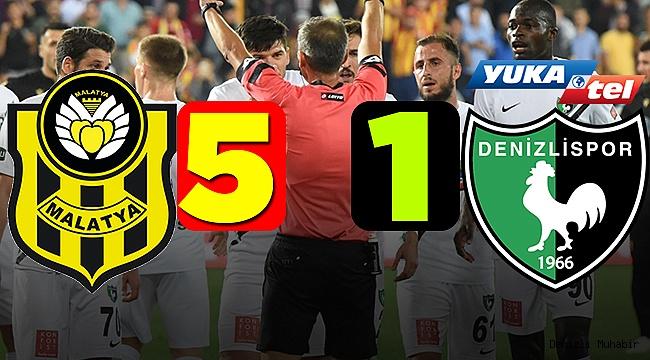 Denizlispor Dağıldı! 5-1