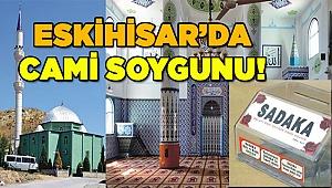 Eskihisar'da cami soygunu!