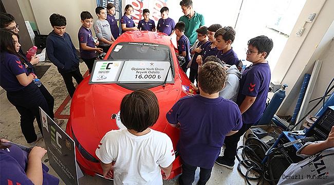 Kolej Öğrencilerinden ALATAY'a Ziyaret