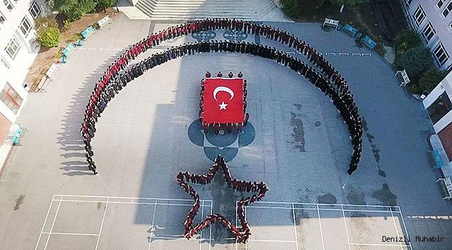 Lise öğrencilerinden Barış Pınarı Harekatı'na destek