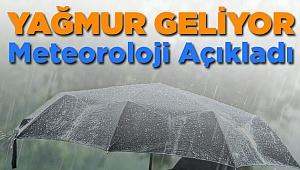 Meteoroloji Az Önce Açıkladı! Denizli'de Yağmur...