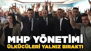 MHP, Ülkü Ocaklarının Devir Teslimine Katılmadı!