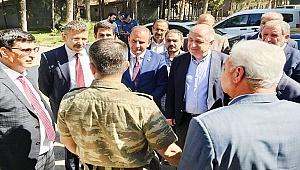 Yasin Öztürk'den İYİ Parti Heyeti ile Harekat Bölgesine Ziyaret