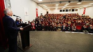 Başkan Zolan'dan gençlere altın değerinde tavsiyeler