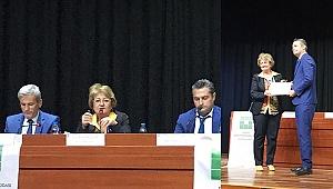 Bozkurt, Panel'de Depremi anlattı