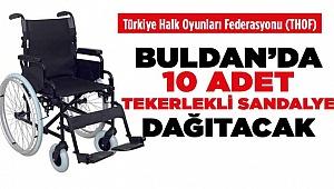 Buldan'da 10 tekerlekli sandalye dağıtımı yapılacak