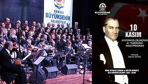 Büyükşehir'den Büyük Önder Atatürk'ü Anma Programı