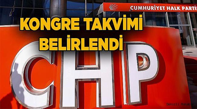 CHP'de kongre tarihleri belli oldu