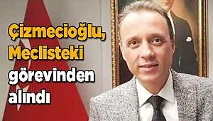 Çizmecioğlu, Meclisteki görevinden alındı