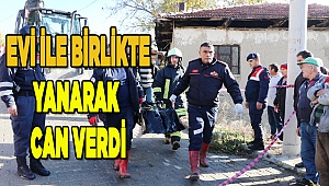 Denizli'de çıkan yangında alzaymır hastası hayatını kaybetti