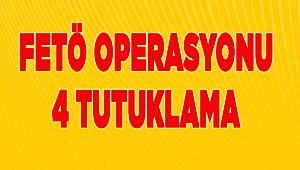 Denizli'de FETÖ operasyonunda gözaltına alınan 9 zanlıdan 4'ü tutuklandı