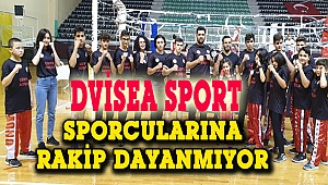 Dvisea Sport ,16 sporcuyla 11 dereceye imza attı