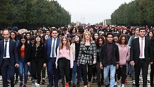 'Gençler Atasıyla Buluşuyor' projesinde ilk dönem sona erdi…