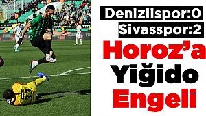 Horoz'a Sivas Çelmesi ! 0-2