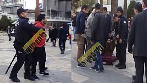 İranlılar çınar'da eylem yaptı