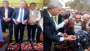 İyi tarım uygulamasına elmalı tanıtım
