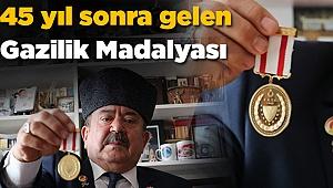 Kıbrıs Gazisinin 45 Yıl Sonra Gelen Madalya Mutluluğu