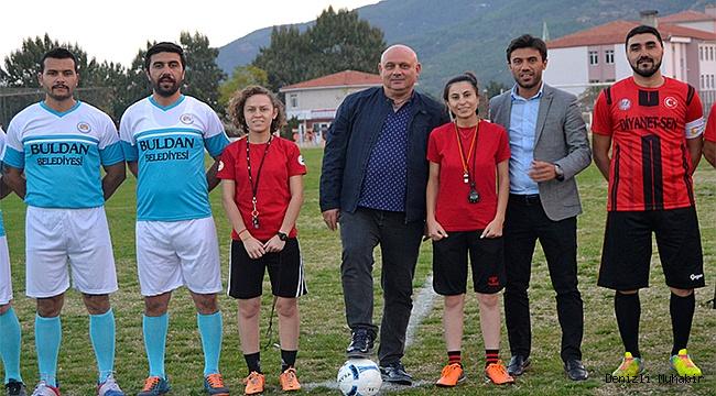 Kurumlararası Futbol Turnuvası başladı