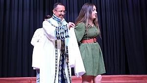 """PAÜ Diş Hekimliği Fakültesi'nde """"Beyaz Önlük Giyme Töreni"""" Düzenlendi"""