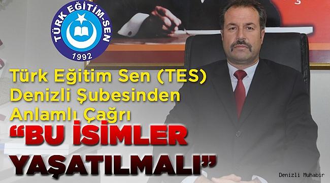 Türk Eğitim Senden Anlamlı Çağrı