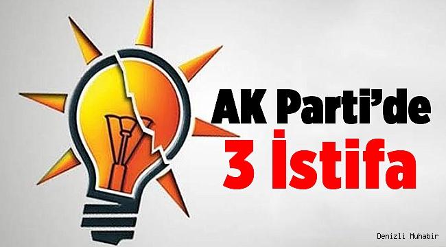 AK Parti'de İstifa Depremi