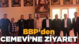BBP'den Cemevine Destek Ziyareti