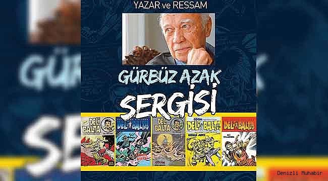 Büyükşehir'den Gürbüz Azak sergisi