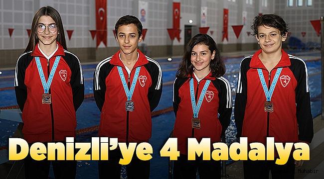 Büyükşehir sporcularından 4 madalya