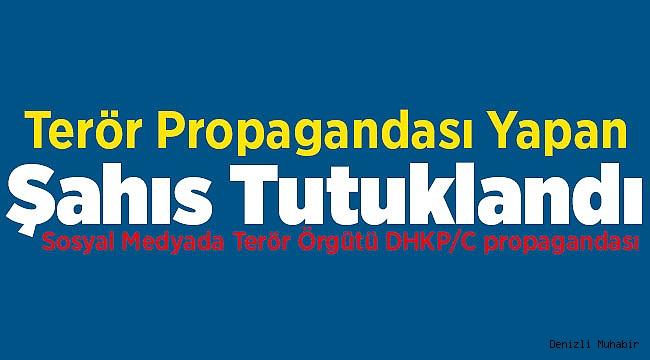 Denizli'de DHKP/C propagandası