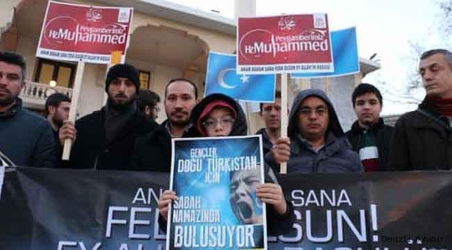 Doğu Türkistan Zulmüne Dur Dediler