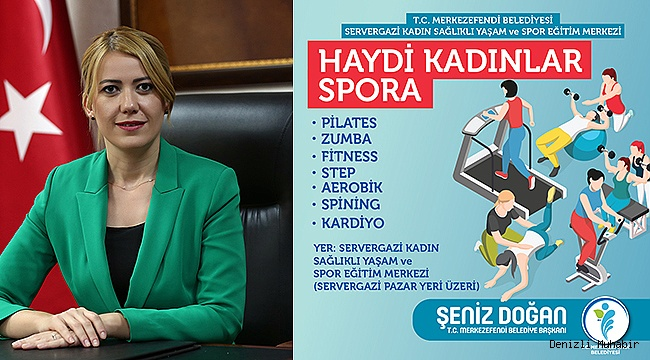 HAYDİ KADINLAR SPORA!
