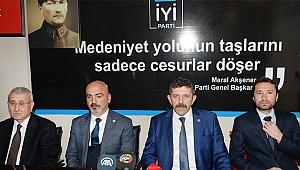 İYİ Partililer, İlçe Başkanı'na saldırının aydınlatılmasını istedi