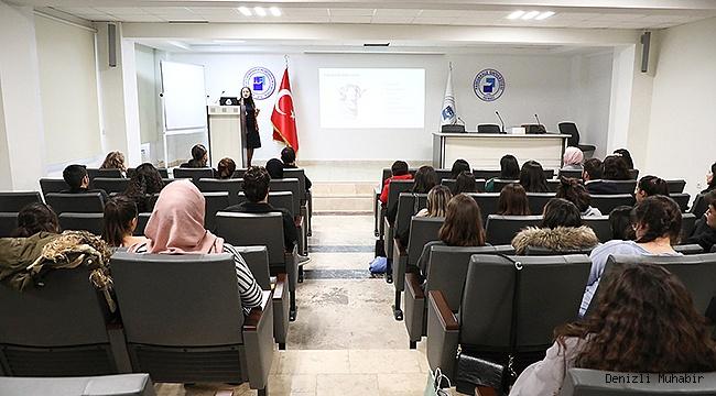 PAÜ'lüTekstil Mühendisleri Uluslararası Firmanın Türkiye Temsilcisiyle Buluştu