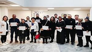 Sarayköy, hayat kurtaranlar zincirine 37 kişiyi ekledi