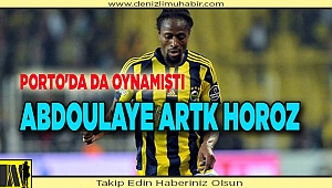 Abdoulaye artık horoz