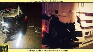 Acıpayam'da kaza: 2 yaralı