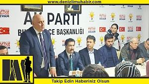 AK Parti Grup Başkanvekili Cahit Özkan, Buldan'da muhtarlarla buluştu