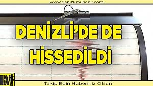 Akdeniz'de ki deprem Denizli'yi korkuttu