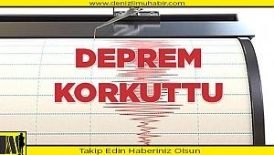 Bergama depremi, Denizli'yi korkuttu