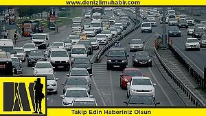Denizli'de araç sayısı 411 bini buldu
