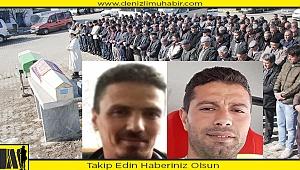 Denizli'de öldürülen iki kardeşin cenazesi toprağa verildi