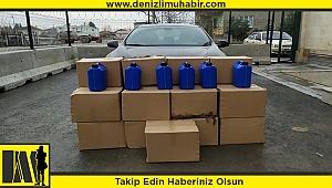 Denizli'de yasaklı tarım ilacını satmaya çalışan 2 şüpheli yakalandı