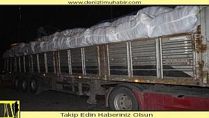 Denizli'den deprem bölgesine çadır ve battaniye desteği