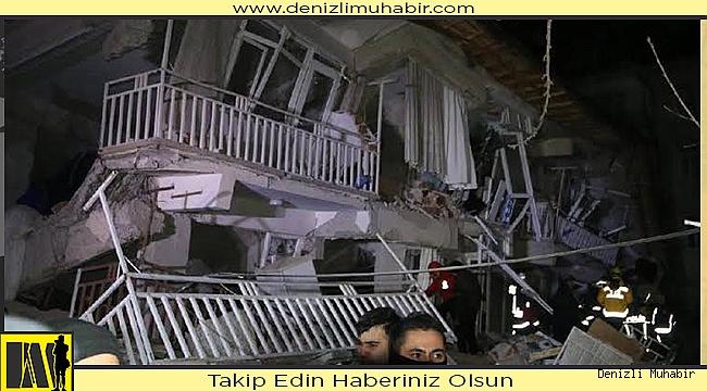 Denizli, deprem bölgesine yardıma koştu